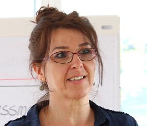 Trainerin Kerstin Peren
