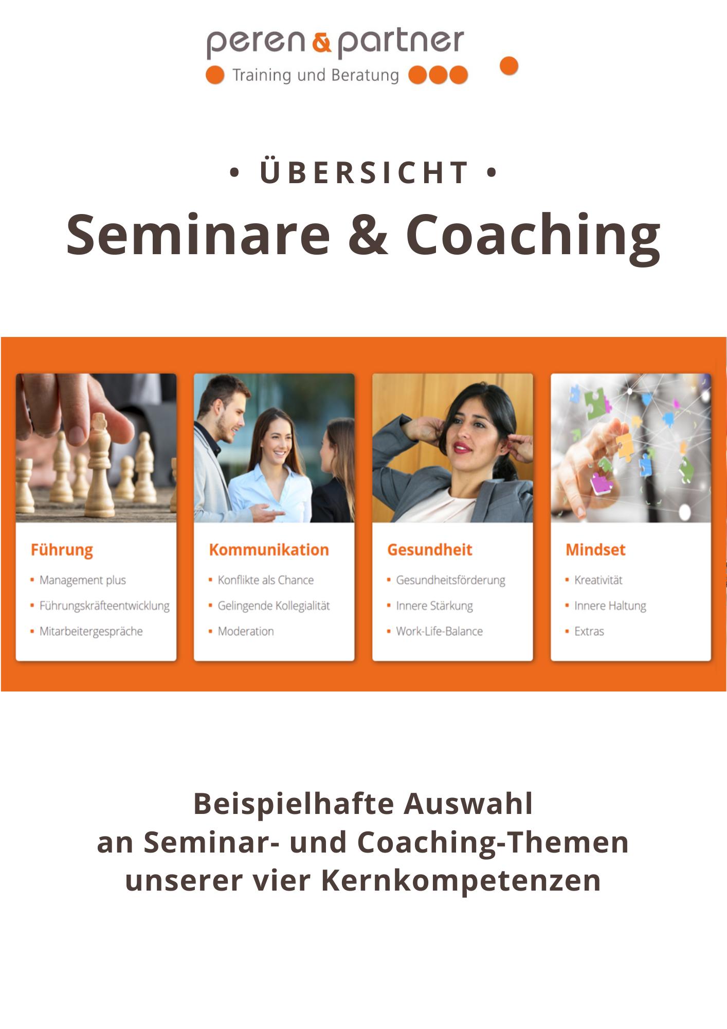 Inhouse Seminare
